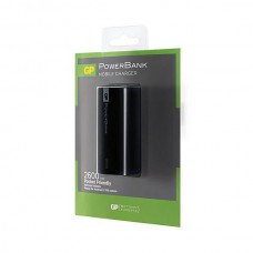 GP POWERBANK LI-ION 1C02A 2600MAH ZWART